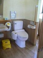 清潔なトイレです